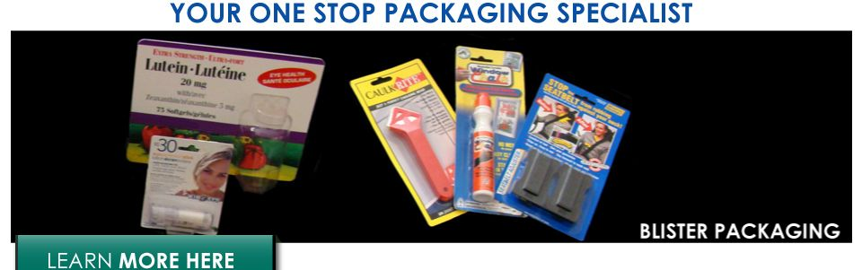 Your one stop packaging specialist | blister packaging