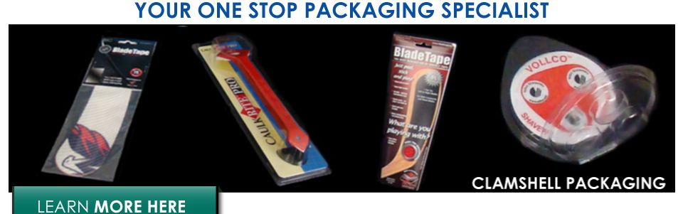 Your one stop packaging specialist | Clamshell packaging