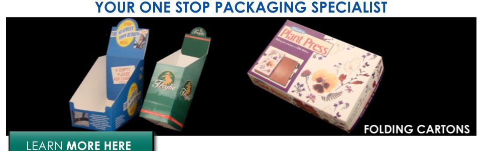 Your one stop packaging specialist | folding cartons